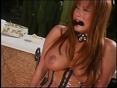 Hot sizzling BDSM chick..