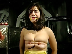 BDSM session involving a big..