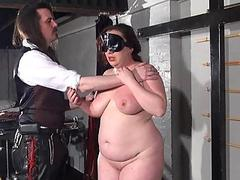 Bbw whipping of Nimue to..