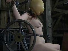 BDSM Slave Mia Electro and..